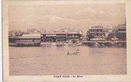 .  EGYPT -PORT SAID - LE QUAI - Port Said