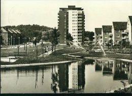 Eisenhüttenstadt Wohngebiet Diehloer Straße Hochhaus Wohnblock 14.6.1972 - Eisenhuettenstadt