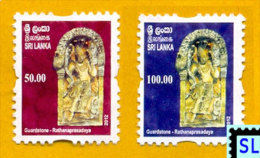 Sri Lanka Stamps 2012, Guard Stone, Rathanaprasadaya, Definitive Stamps, MNH - Sri Lanka (Ceylon) (1948-...)