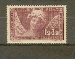 """FRANCE STAMP TIMBRE N° 256 \"""" C. A. ANGE AU SOURIRE REIMS 1930 \"""" NEUF Xx TTB - France"""