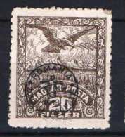 Hungary - DEBRECEN 1920. (Romania) Occupation Stamp 20 F Stamp IN SPECIAL BRIGHT CHALK PAPIER MH (*) - Local Post Stamps