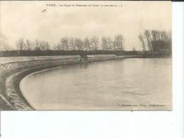LA DIEGUE DU RESERVOIR DU CANAL  AÑO 1907   OHL - Wassy