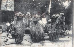 Indochine Laos - Luang Prabang - La Danse Des Pou Gnieu Gnia Gnieu Ancêtres Des Laotiens - Cérémonie - Collect. Raquez - Laos