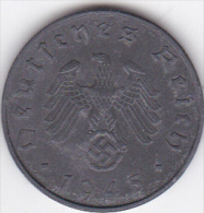 ALLEMAGNE . 10 REICHSPFENNIG 1945 E (MULDENHUTTEN) . ZINC .