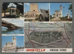 T4174 VOLPAGO DEL MONTELLO Treviso VEDUTE VG (m) - Treviso
