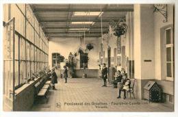 E3484  -  FOURON - LE - COMTE  -  Pensionnat Des Ursulines  -  Véranda - Voeren