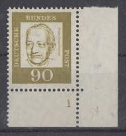 Bund Minr.360 UER Formnummer  1 Postfrisch - BRD