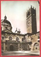 CARTOLINA VG ITALIA - BRESCIA - Il Broletto - ACQUARELLATA - 10 X 15 - ANNULLO  BRESCIA 1959 - Brescia