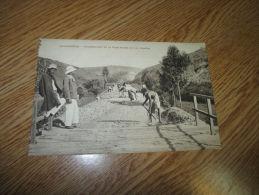 Postcard Carte Postale France RailRoad Constrution Madagascar Africa Train Chemin De Fer - Madagascar