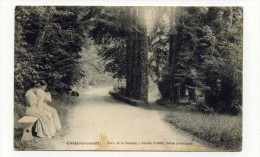 CP , 86 , CHATEAURENAULT , Parc De La Source, Jardin Public, Allée Principale - Andere Gemeenten