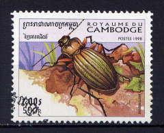 CAMBODGE - N° 1566° - CARABUS AURONITENS - Cambodge