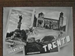 TRENTO   VEDUTE  1957 - Italie