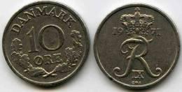 Danemark Denmark 10 Ore 1971 CS KM 849.1 - Danimarca