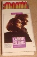 Boite D´allumettes L'AMOUR EN DEUX - Affiche Cinéma - L´instant Star  (Voir 2 Scans) - Cajas De Cerillas (fósforos)