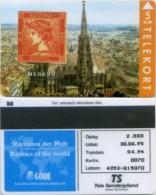 "Telefonkarte Dänemark -  Rare Stamps  "" Merkur "" - TP 44 - 04/94- SN 4353 - Aufl. 2000 - Timbres & Monnaies"