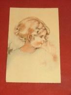 FANTAISIES - ILLUSTRATEUR NON SIGNE - Portrait D'enfant  - Editions Vouga Et Cie - Andere Zeichner