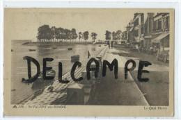 CPA - St Valery Sur Somme - Le Quai Blavet - Saint Valery Sur Somme