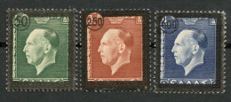 GREECE 1947 SET ´´KING GEORGE II MOURNING ISSUE´´ MNH** + MH* -CAG 310514 - Non Classificati