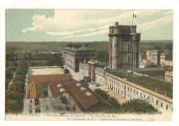 Cp, 93, Vincennes, Vue Panoramique Du Château, Le Pavillon Du Roi - Vincennes