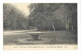 Cp, 95, Forêt De L'Isle Adam, La Table De Cassan, écrite - L'Isle Adam