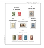 STAMPS  ALBUM PAGES BOY SCOUTS 1900-50  - PDF FILE (ALL PAGES FULLY ILUSTRATED) - Logiciels