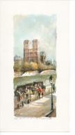 Reproduction Impression  Tableau DELARUE 547 PARIS Et Les Bouquinistes - Autres Collections