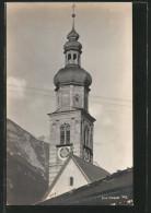 AK Thaur, Sicht Auf Den Uhrturm Der Kirche - Autriche