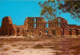 Sabratha Theatre, Libya Postcard Used Posted To UK 1995 Tunisia Stamp - Libya