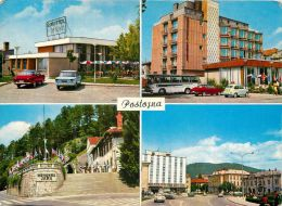 Postojna, Slovenia Postcard Used Posted To UK 1971 Stamp - Slovenia