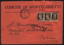1945  LETTERA   CON ANNULLO MONTELIBRETTI ROMA - Unclassified