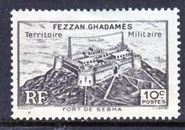 Fezzan  1N 1  * - Unused Stamps