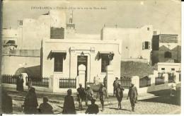 CPA  CASABLANCA, Poste De Police De La Rue De Marrakech  9947 - Casablanca