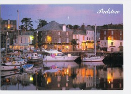Padstow Harbour At Night, Cornwall - 1994 - England