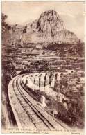 Ligne Du Sud - Viaduc De La Cagne Et Le Baou De SAINT JEANNET (Cachet Perlé)   (68532) - Non Classificati