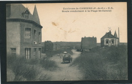 Environs De CAMIERS - E.S. - Route Conduisant à La Plage Saint Gabriel (automobile) - Frankrijk