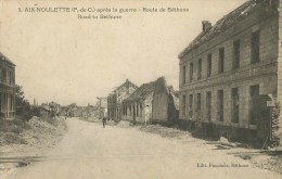 Aix-Noulette (62) Route De Béthune - France