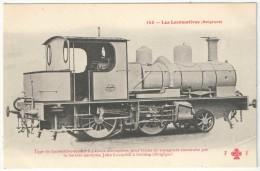 Les Locomotives (Belgique) - FF 145 - Type De Locomotive-tender à 4 Roues Accouplées - Cockerill - Seraing - Matériel