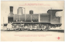 Les Locomotives (Belgique) - FF 251 - Chemins De Fer De L'Etat Belge (ligne Du Grand Central Belge) - Matériel