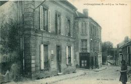 D 78 - CRESPIERES - La Poste  - 209 - France