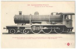 Les Locomotives (Belgique) - FF 254 - Chemins De Fer De L´Etat Belge - Locomotive St-Léonard - Liège - Matériel