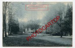 Fontaine De BARISART-SPA-Chateau-Villa-Periode Guerre-14-18-1 WK-BELGIEN-BELGIQUE-Feldpost- - Spa