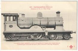 Les Locomotives (Belgique) - FF 143 - Chemins De Fer De L´Etat Belge - Locomotive Cockerill - Seraing - Matériel