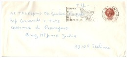 LETTRE  ITALIE, 17 OTT.1976 XVIII CIORNATTA DEL FRANCOBOLLO /5536 - Italia