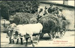 CPA  ENCAUSSE (Haute-Garonne) - Retour Des Champs - Attelages