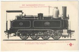 Les Locomotives (Belgique) - FF 252  - Chemins De Fer De L´Etat Belge - Locomotive-tender - Matériel