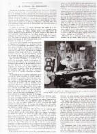 1936  Le Luthier De Mirecourt Violon  Fabrication De - Vieux Papiers
