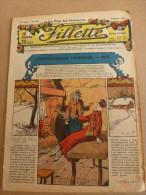 """1932 Revue """"FILLETTE"""" :de Belles Histoires à Suivre Et Aussi Ponctuelles Comme Celle-ci  : JACQUOT LE PERROQUET VERT - Fillette"""