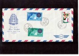 402  -   MAROCCO/TUNISIA   -  COVER  FRANKED  TANGER 2.7.1966 - Marruecos (1956-...)