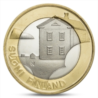 FINLAND FINLANDE FINNLAND 5 EURO PROVINCIAL BUILDINGS OSTROBOTHNIA 2013 UNC - Finland