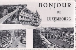 CPSM - LUXEMBOURG - BONJOUR DE LUXEMBOURG - Luxembourg - Ville